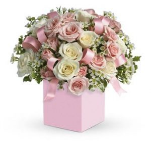 flowers for baby girl birth
