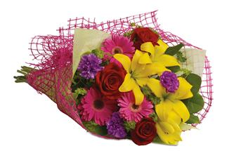 Send Bunch Of Flowers