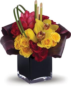 flowers for holiday parties
