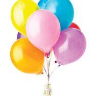 balloon flower arrangement